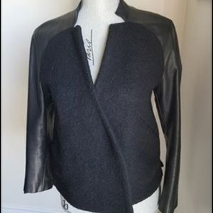Size small genuine leather sleeves